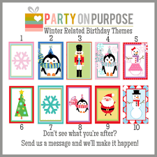 christmas party on purpose