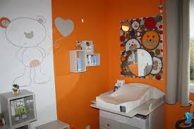 deco chambre orange chambre orange gris idées de décoration capreol us