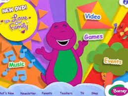 barney german website purple fun loving happy barney
