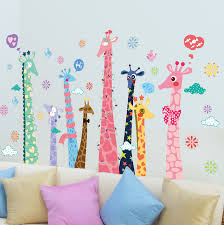 aliexpress com buy colorful color giraffe wallpaper for kids