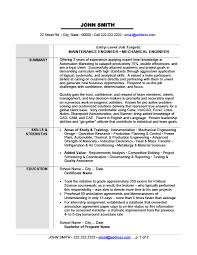 Power Resume Sample by Maintenance Or Mechanical Engineer Resume Template Premium