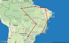 Parana River Map Destination Guide U2013 Brazil U2013 Bona Travels