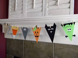 Homemade Halloween Ideas Decoration - best 25 diy halloween bunting ideas on pinterest fall bunting