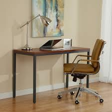 unique furniture parson 47 in narrow desk hayneedle