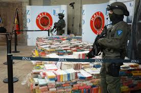german customs seize largest haul of cocaine worth 800