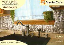 Wall Panels For Kitchen Backsplash Fasade Decorative Wall Panels Or Bedazzling S Kitchen Becolorful