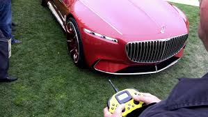 watch the vision mercedes maybach 6 being driven remotely