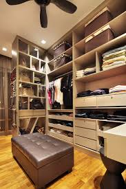Hdb Bedroom Design With Walk In Wardrobe A Walk In Wardrobe Made Possible
