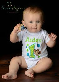birthday onesie boy a and personalized monkey onesie or shirt that will