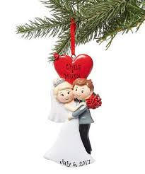 and groom treasured ornaments