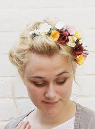 bridal flowers for hair make this paper flower hair accessory diy paper and stitch