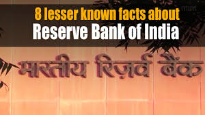 8 lesser known facts about reserve bank of india