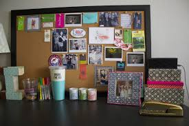 Things To Put On A Desk A Peek Inside Of My Dorm Room Throughout Cork Boards Target The