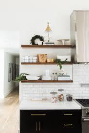 Kitchen Shelf Ideas Wooden Kitchen Shelves Kitchen Design