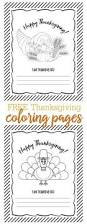 free thanksgiving coloring pages cute printable kids activity