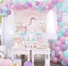 balloon garland online shop diy unicorn rainbow balloon garland kit mixed 5 10