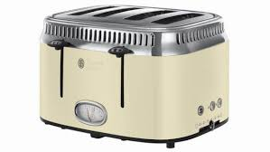 Are Dualit Toasters Worth The Money Russell Hobbs Retro 4 Slice Toaster Review Trusted Reviews