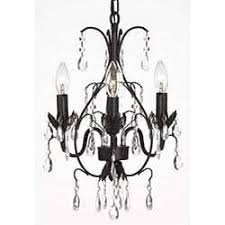 Black Traditional Chandelier Black Chandelier With Crystals And Jet Crystal Clear Traditional