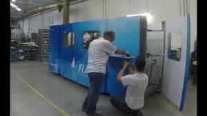 Laser Cutter Ventilation Nasce Flash Creasing And Laser Cutting Machine Youtube