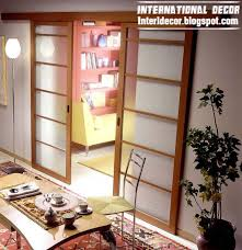 Interior Doors With Frames Modern Sliding Doors Designs Wide For Office Room Interior Home