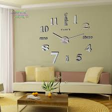 Home Decor Europe Aliexpress Com Buy Europe Simple Ideas New Quartz Huge Wall