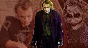 Heath Ledger Halloween Costume Heath Ledger Transformed Joker