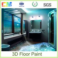 cheap chemicals epoxy 3d floor paint for wooden floor protection