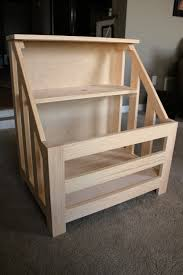 How To Make A Wood Toy Box Bench by Diy Toy Box Bookshelf I Plan To Recreate This Using Pallet Wood