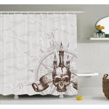 halloween shower curtains you u0027ll love wayfair