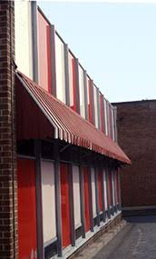 Century Awning Industrial The Use Of Awnings On Historic Buildings Repair Replacement And