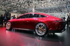 mercedes amg concept mercedes amg gt concept is the 4 door the panamera never was