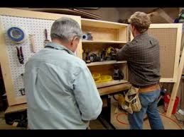 How To Build A Wall Cabinet by How To Build A Tool Storage Cabinet This Old House Youtube