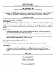 Resume For Teacher Sample by The Elegant Sample Resume Teacher Assistant Resume Format Web