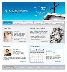 10 best images of free religious website templates free church