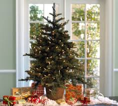 contemporary design tabletop trees with lights small
