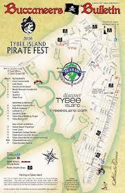 Pirates Map Pirate Parade Tybee Island Pirate Festivaltybee Island Pirate Fest