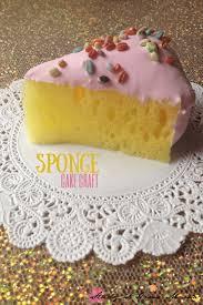 kids craft ideas sponge cake craft