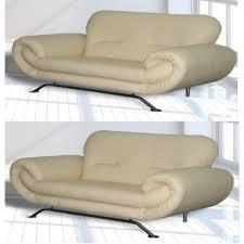 3 Seater Cream Leather Sofa The Cheap Ambassador 3 Seater U0026 2 Seater Faux Leather Sofas