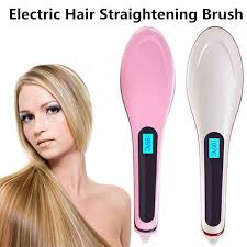 best chemical hair straighteners 2015 lcd electric hair straightening brush 2015 review youtube