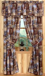 Curtains Valances Western Rustic Curtains Drapes Valances Pillows Cabin Place