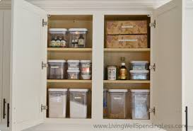 Washing Kitchen Cabinets Clean Kitchen Cabinet Living Well Spending Less