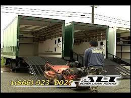 Used Landscape Trucks by Super Lawn Trucks Ramp Options Youtube