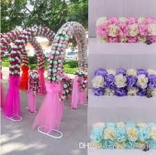 cheap wedding arch cheap diy wedding decoration props simulation silk flowers