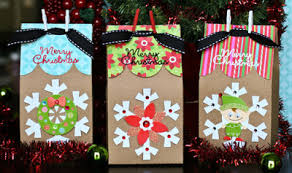 bags of christmas bows how to decorate a paper bag for christmas search