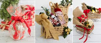 gift basket wrapping paper 2 beautiful ways to present merry christmas hers