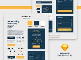 ui kits free psds u0026 sketch app resources for designers uipixels