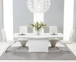 High Gloss Extending Dining Table Top 20 Oval White High Gloss Dining Tables Dining Room Ideas
