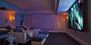 Projector Media Room - home theaters media rooms osbee