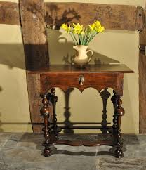 william and mary table a william and mary oak side table english circa 1695 sales archive