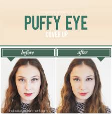 makeup under eye undo tutorial photography by amy nadine graphic design by eunice chun